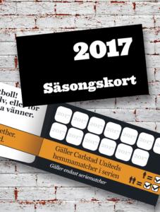 Säsongskort 2017