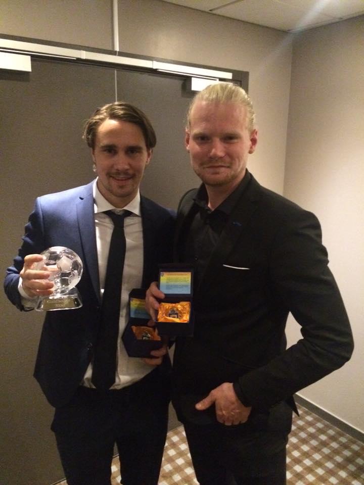 André stod för en riktigt bra säsong 2016 och belönades dessutom med Guldbollen, som Värmlands bästa fotbollsspelare herrar 2016.