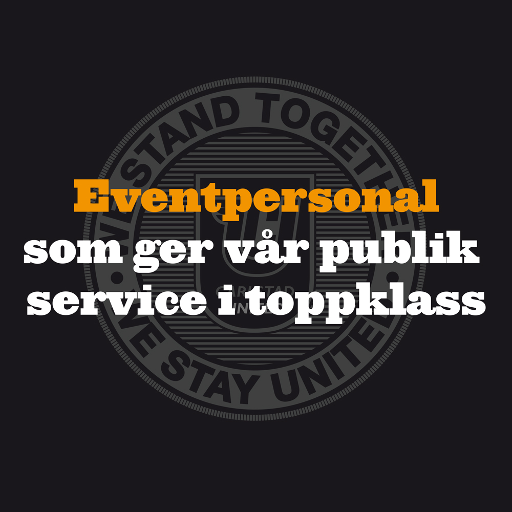 Jobbannons eventpersonal