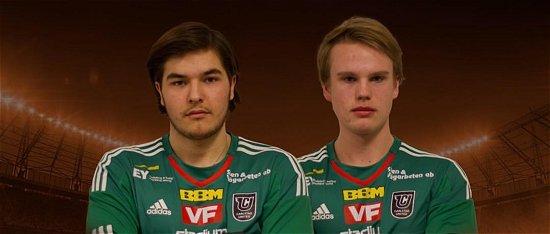Felix Ernstson och Jesper Johansson